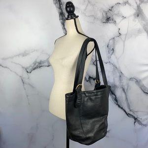 COACH | Vintage Soho Duffle black leather tote bag